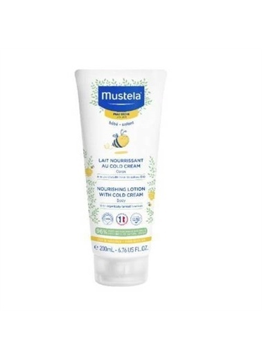 Mustela Mustela Nourishing Lotion With Cold Cream 200 Ml Renksiz